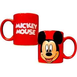 Mickey Full Face Relief 11oz Mug